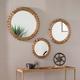 Mayson Round Farmhouse Mirror Set