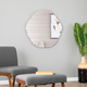 Sliwas Contemporary Hanging Wall Mirror