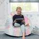 Delta Children Snuggle Foam Filled Chair, Tween Size, Tie Dye