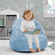 Delta Children Snggle Foam Filled Chair, Toddler Size