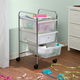 Honey-Can-Do 3-Drawer Rolling Storage Cart