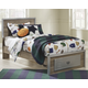 McKeeth Twin Panel Bed with Storage