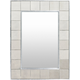 Home Accents  Gray Traditional Wall Mirror