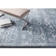 Home Accents  Medium Gray Modern Upholstered Bench