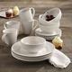 Elle Décor Chloe Porcelain 16-Piece Dinnerware Set