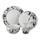 Elle Décor Floral Deco 16-Piece Dinnerware Set