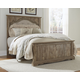 Shellington Queen Mansion Panel Bed