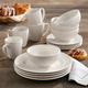 Elle Décor Amelie Porcelain 16-Piece Dinner Set