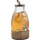 Elle Décor Style Setter Humboldt Beverage Dispenser with Wood Lid