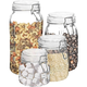 Elle Décor Style Setter Portland Square Set of 4 Canisters