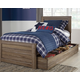 Javarin Twin Panel Bed with Storage
