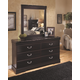 Esmarelda Dresser and Mirror