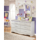 Zarollina 2-Piece Dresser and Mirror