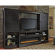Sharlowe 4-Piece Entertainment Center with Fireplace