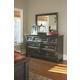 Townser Dresser and Mirror