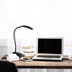 Home Accents Simple Designs Flexi LED Rounded Clip Light, Black