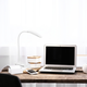 Home Accents Simple Designs Flexi LED Rounded Clip Light, White