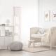 Home Accents Simple Designs Etagere/Storage Floor Lamp w Linen Shade, LPK