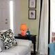 Home Accents Simple Designs Mini Ceramic Globe Table Lamp