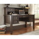Townser Home Office Desk with Hutch
