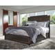 Zimbroni King Panel Bed