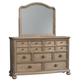 Ollesburg Dresser and Mirror