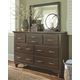 Brossling Dresser and Mirror