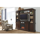 Porter 4-Piece Entertainment Center with Fireplace