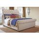 Windville King Upholstered Sleigh Bed