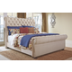 Windville Queen Upholstered Sleigh Bed