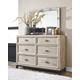 Halamay Dresser and Mirror