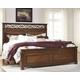 Lazzene Queen Panel Bed