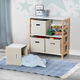 Honey-Can-Do 4-Bin Kids Room Or Playroom Organizer