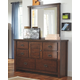 Ladiville Dresser and Mirror
