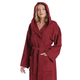Arus Women's Hooded Classic Turkish Cotton Bathrobe (L/XL)