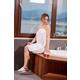 Arus Women's Organic Certified Terry Cotton Shower Bath Wrap (S/M)