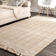 Nuloom Hand Woven Don Frige Jute5' x 8' Area Rug