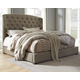 Camilone Queen Upsholstered Panel Bed