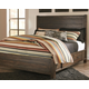 Rokane King Poster Bed with Storage