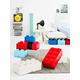 Lego ®  Storage Brick 4 - Red