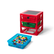 Lego ®  3-Drawer Storage Rack - Red