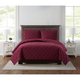Truly Soft Everyday 3D Puff 2 Piece Twin XL Quilt Set