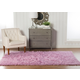 Home Accents Lilac 2'x3' Flokati Accent Rug
