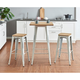 Euro Style Danne-B Bar Stool (Set of 4)