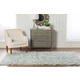 Home Accents Light Gray 2'x3' Flokati Accent Rug