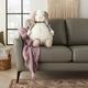 Nourison Kids Mina Plush Bunny Animal Pillow