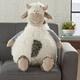 Nourison Kids Mina Cow Pouf Animal Pillow