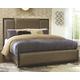 Chaliene Queen Upholstered Panel Bed