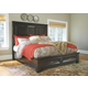 Townser King Panel Bed with Storage