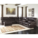 Damacio 6-Piece Reclining Sectional with Chaise and Power